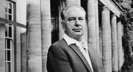 L. Ron Hubbard At His Home