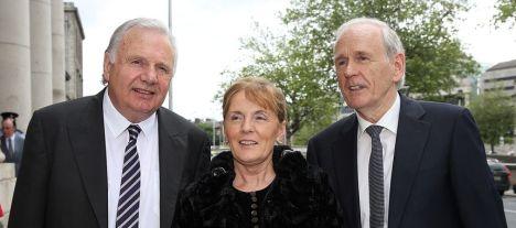 Pastors  Gerry Byrne, Sheila Hade and Brendan Hade