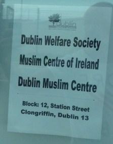 Mosque notice