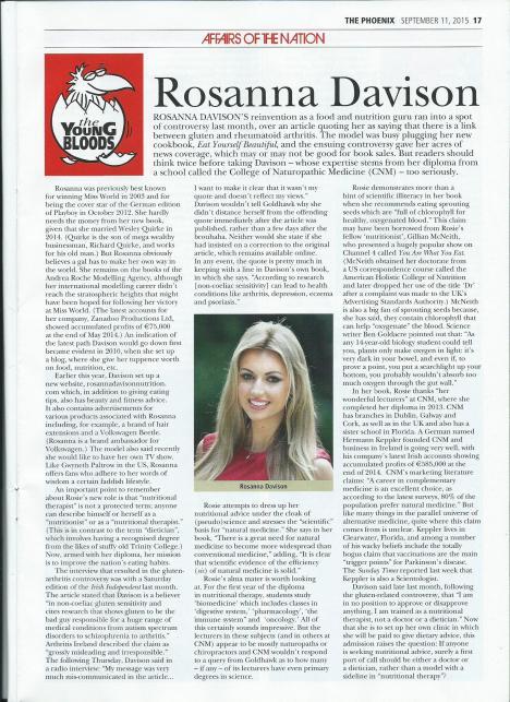 Rosanna Davison Phoenix