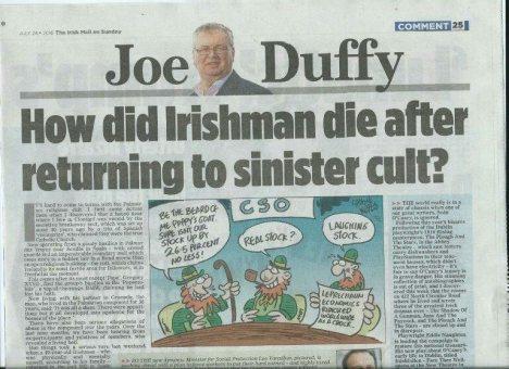 Joe Duffy in MonS1
