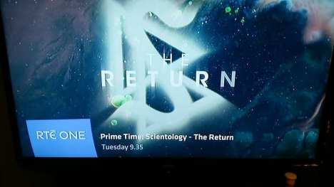 The Return Prime Time on Scientology